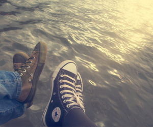 all star, lake, and love image