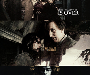 harry potter, remus lupin, and sirius black image