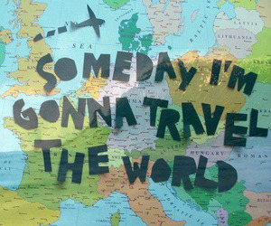travel, world, and someday image