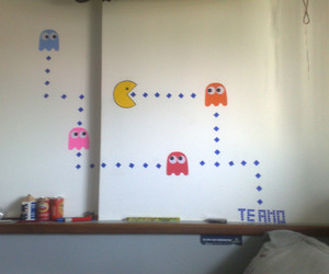 geek, Pac Man, and love image