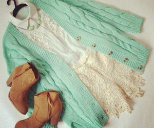 chic, vintage, and girl image