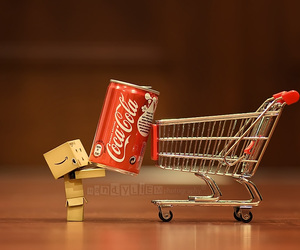 coca cola, danbo, and coke image
