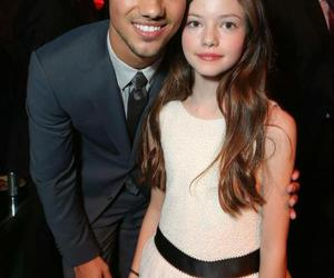 Taylor Lautner, twilight, and mackenzie foy image