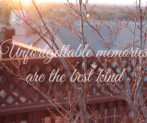 quote, memories, and text image