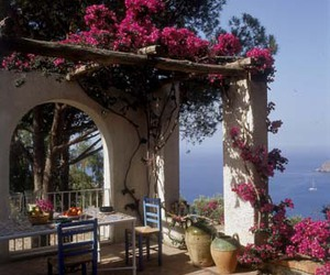 italy, landscape, and ischia image