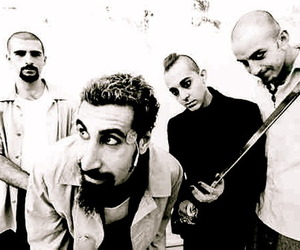 system of a down, soad, and serj tankian image