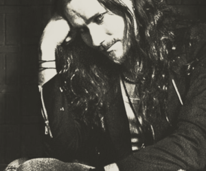 black, white, and tuomas holopainen image