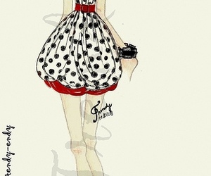 croqui, dots, and trendy image