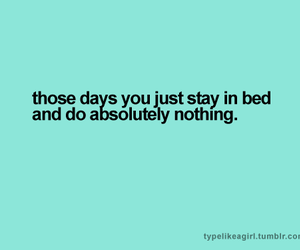 bed, girl thing, and quote image