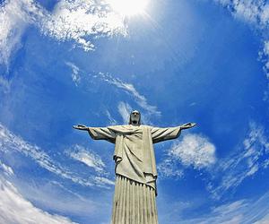 rio de janeiro, brazil, and cristo redentor image