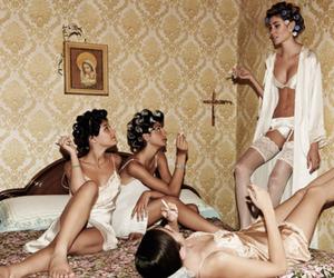 fashion, party, and smoke image