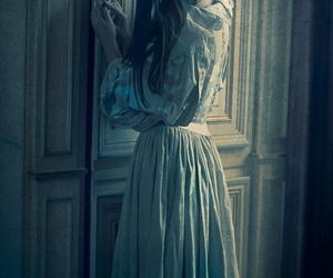 door, fairytale, and girl image