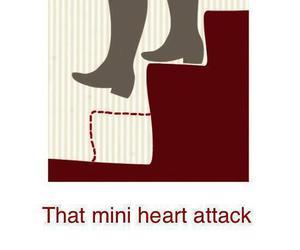 funny, heart attack, and lol image