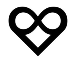 believe, black and white, and heart image