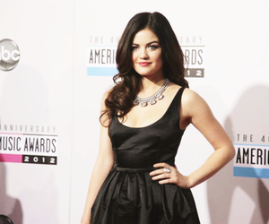 pretty, red carpet, and lucy hale image