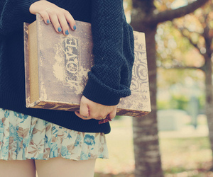 book, sweet, and girl image