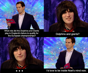 noel fielding, The mighty Boosh, and jimmy carr image