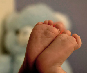 baby, feet, and cute image