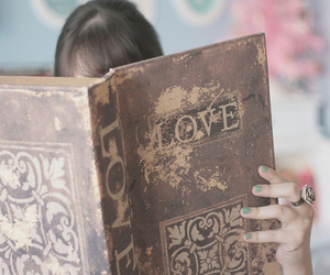 book, dear, and pastel image
