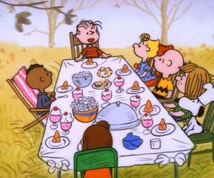 charlie brown, snoopy, and peanuts image