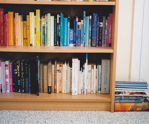books, harry potter, and rainbow image