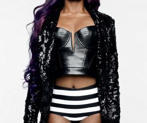 fashion, purple hair, and azealia banks image
