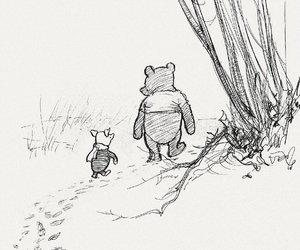 winnie the pooh, piglet, and friends image