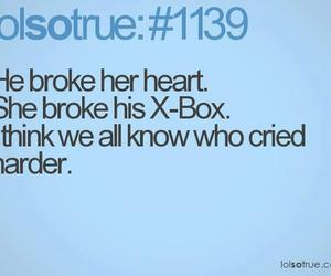 funny, xbox, and cry image