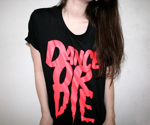 dance, girl, and shirt image