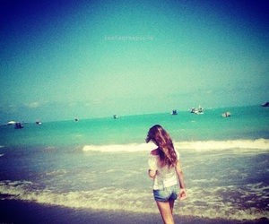 beach, cool, and girl image