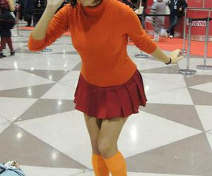 velma, cosplay, and scooby-doo image