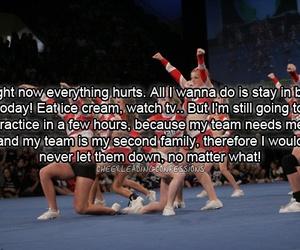 team and cheerleading image