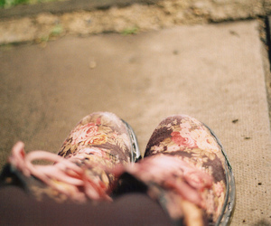 shoes, vintage, and girl image