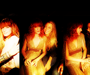 blake lively, florence welch, and womance image