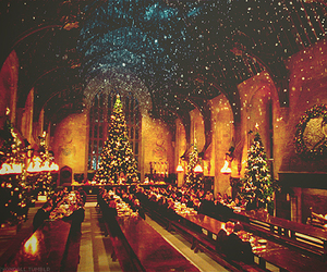 harry potter, winter, and xmas image