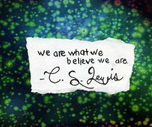 quote and believe image