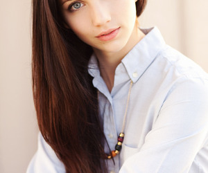 girl, emily rudd, and model image