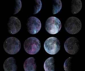 cool, moon, and lovely image