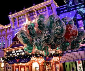 balloons, christmas, and disney image