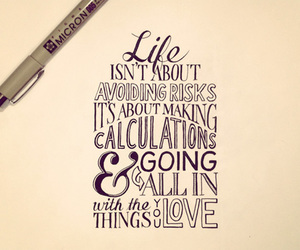 life, quote, and calligraphy image