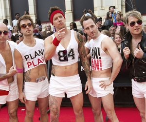 simple plan and sexy guys image