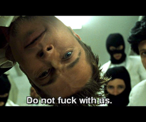 brad pitt, fight club, and quote image