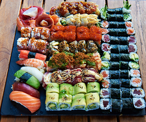 delicious, fish, and food image