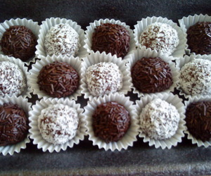 chocolate, delicious, and food image