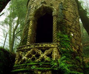 abandonned, castle, and fairytale image