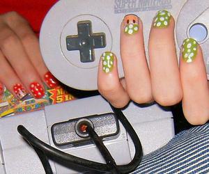 mario, mushroom, and nails image