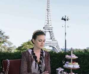 paris, gossip girl, and blair waldorf image