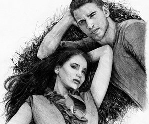 hunger games, portrait illustration, and mafin10 image