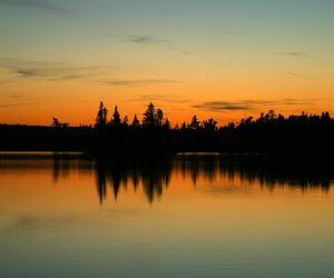 beautiful, silhouette, and canada image