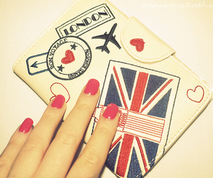 london, nails, and england image